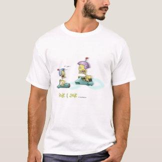 Tok u. Jok die Rennen-Weiß-Shirts T-Shirt