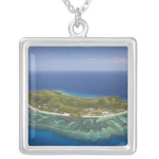 Tokoriki Insel, Mamanuca Inseln, Fidschi Versilberte Kette