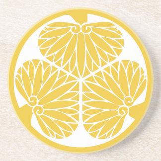Tokugawa Clan-Montag-Wappen Getränkeuntersetzer