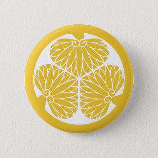 Tokugawa Clan-Montag-Wappen Runder Button 5,1 Cm