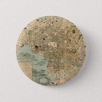 Tokyo 1854 runder button 5,7 cm