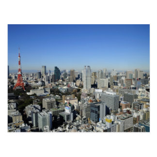 Tokyo, Japan Postkarte