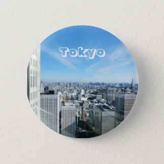 Tokyo, Japan Runder Button 5,1 Cm