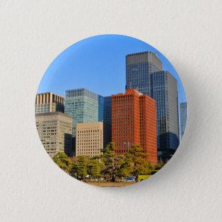 Tokyo, Japan Runder Button 5,7 Cm