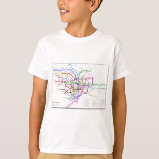Tokyo-Metro-Karte T-Shirt