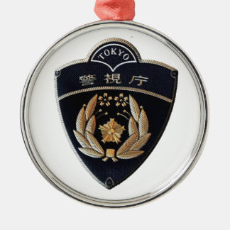 Tokyo-Polizei Silbernes Ornament