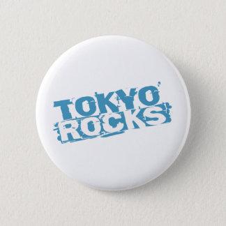 Tokyo schaukelt Knopf Runder Button 5,7 Cm