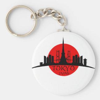 Tokyo-Sehenswürdigkeit Schlüsselanhänger