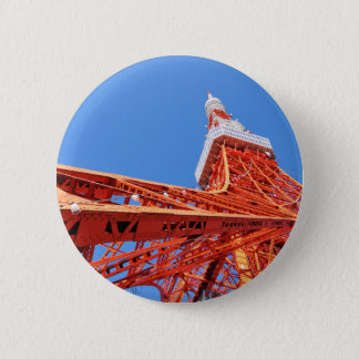 Tokyo-Turm Runder Button 5,1 Cm