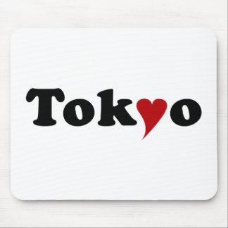 Tokyo with Heart Mousepads