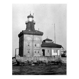 Toledo-Hafen-Leuchtturm Postkarte