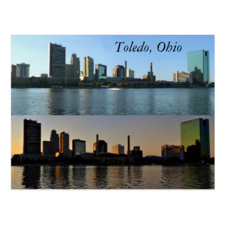 Toledo, Ohio Postkarte