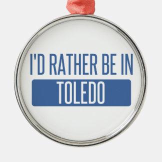 Toledo Silbernes Ornament