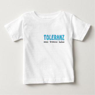 Toleranz muss Grenzen haben Baby T-shirt