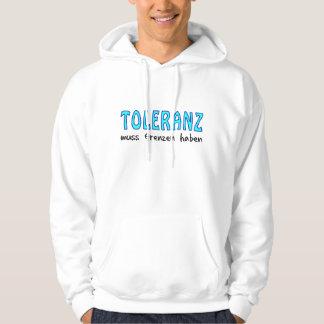 Toleranz muss Grenzen haben Kapuzensweater