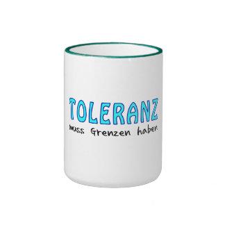 Toleranz muss Grenzen haben Ringer Tasse