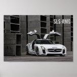 TOLLER Entwurf Mercedes-Benz SLS AMG Posterdrucke