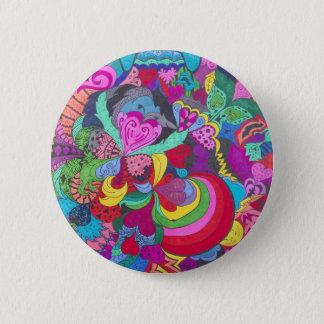 Toller Sun Runder Button 5,1 Cm