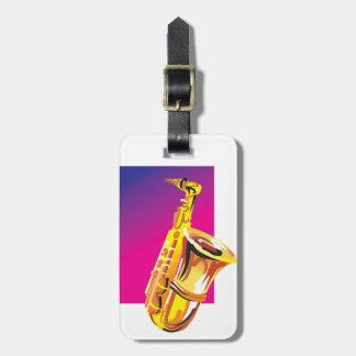 Tolles Saxophon Gepäckanhänger