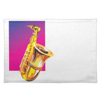 Tolles Saxophon Tischset