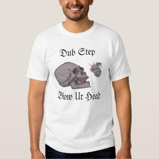 Tollpatsch-Schritt-Schlag Ur Kopf T-shirt