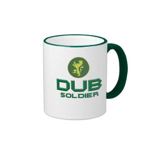Tollpatsch-Soldat Ringer Tasse