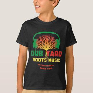 Tollpatsch-Yard wurzelt Musik T-Shirt