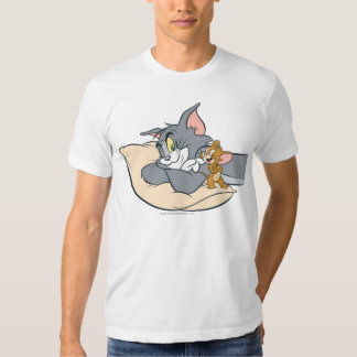 Tom und Jerry auf Kissen Tshirt