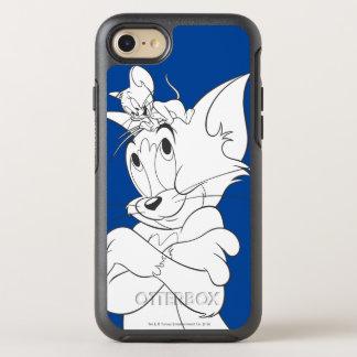 Tom und Jerry auf Kopf OtterBox Symmetry iPhone 8/7 Hülle
