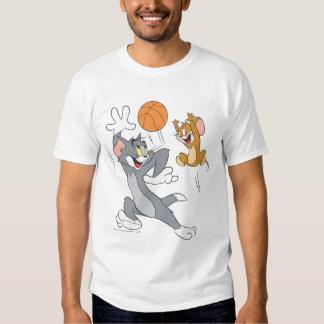 Tom- und Jerry-Basketball 1 Hemden