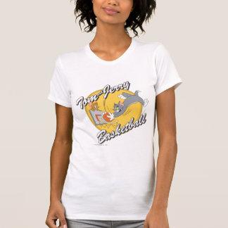 Tom- und Jerry-Basketball 2 T-Shirt