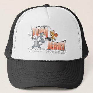 Tom- und Jerry-Basketball 3 Truckerkappe