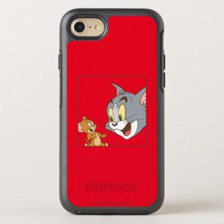 Tom- und Jerry-Briefmarke OtterBox Symmetry iPhone 8/7 Hülle
