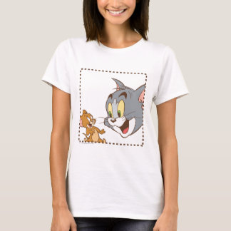 Tom- und Jerry-Briefmarke T-Shirt