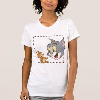 Tom- und Jerry-Briefmarke T-Shirt