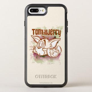 Tom und Jerry Brown und Grün OtterBox Symmetry iPhone 8 Plus/7 Plus Hülle