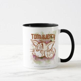 Tom und Jerry Brown und Grün Tasse