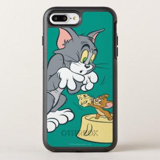 Tom und Jerry füttern die Katze OtterBox Symmetry iPhone 8 Plus/7 Plus Hülle