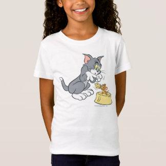 Tom und Jerry füttern die Katze T-Shirt
