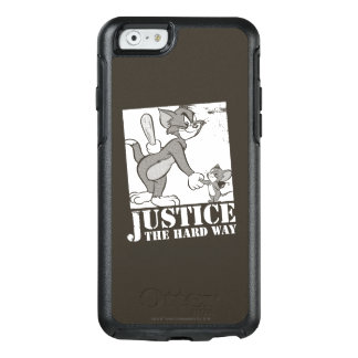 Tom- und Jerry-Gerechtigkeit die harte Weise OtterBox iPhone 6/6s Hülle