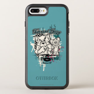 Tom und Jerry Hollywood CA OtterBox Symmetry iPhone 8 Plus/7 Plus Hülle