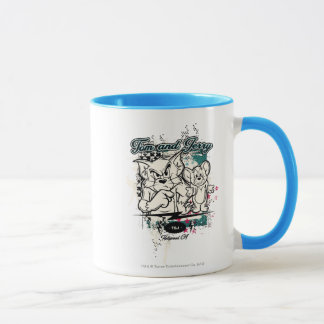 Tom und Jerry Hollywood CA Tasse