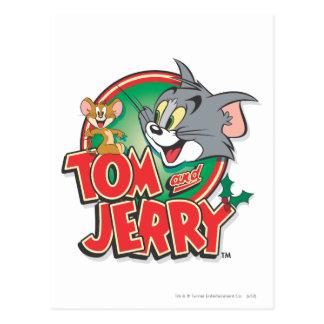 Tom- und Jerry-Klassiker-Logo Postkarte