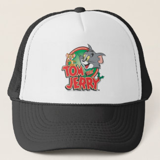 Tom- und Jerry-Klassiker-Logo Truckerkappe