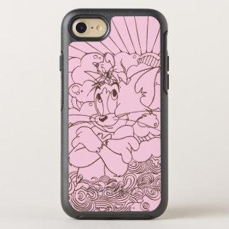 Tom- und Jerry-Kontur OtterBox Symmetry iPhone 8/7 Hülle