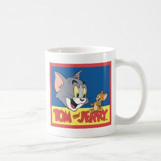 Tom- und Jerry-Logo flach Tasse