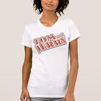 Tom- und Jerry-Logo T-Shirt