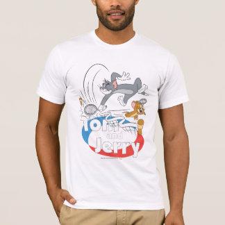 Tom- und Jerry-Tennisstars 7 T-Shirt