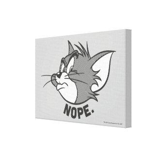 Tom und Jerry | Tom sagt Nope Leinwanddruck