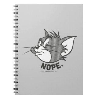 Tom und Jerry   Tom sagt Nope Spiral Notizblock